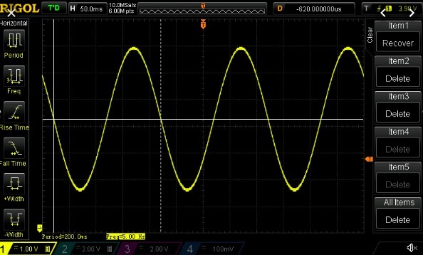 bandwidth of an oscilloscope analysis